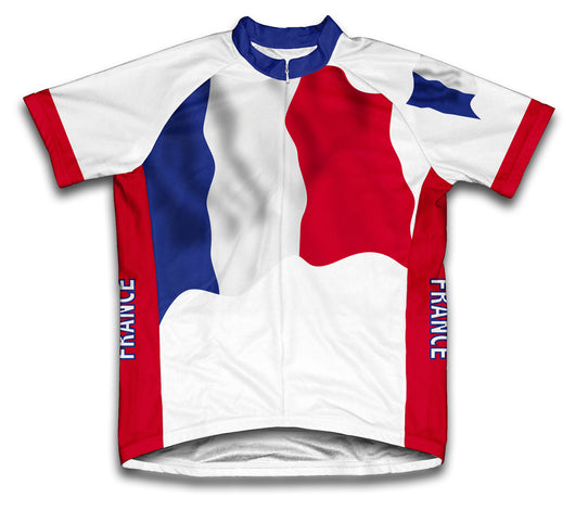 France Flag Cycling Jersey for Men and Women