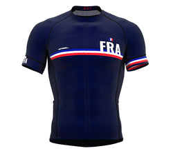 France Blue CODE Short Sleeve Cycling PRO Jersey for Men and WomenFrance Blue CODE Short Sleeve Cycling PRO Jersey for Men and Women