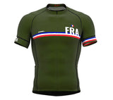 France Green CODE Short Sleeve Cycling PRO Jersey for Men and WomenFrance Green CODE Short Sleeve Cycling PRO Jersey for Men and Women