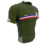 France Green CODE Short Sleeve Cycling PRO Jersey for Men and Women