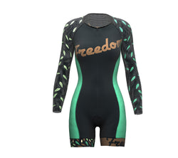 Fredoom Scudopro Cycling Skin Suit Long Sleeve for WomanFredoom Scudopro Cycling Skin Suit Long Sleeve for Woman