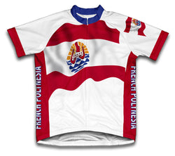French Polynesia Flag Cycling Jersey for Men and Women