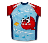 Friendly Teeth Short Sleeve Cycling Jersey for Men and Women