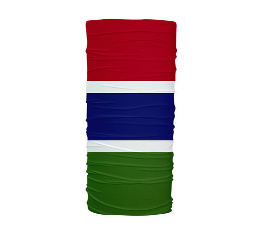 Gambia Flag Multifunctional UV Protection Headband