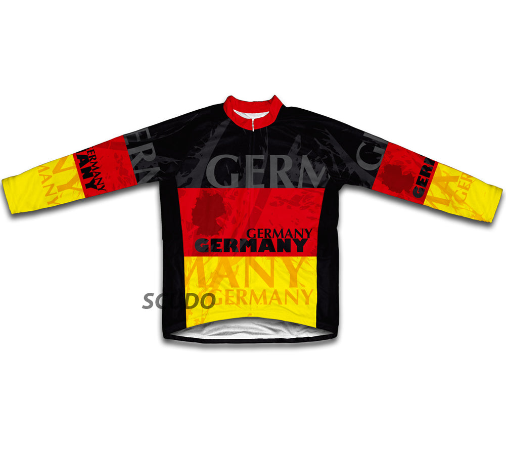 Germany Winter Thermal Cycling Jersey