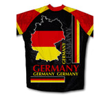 Germany Flag Winter Thermal Cycling Jersey