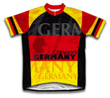 Germany Short Sleeve Cycling Jersey for Men and Women