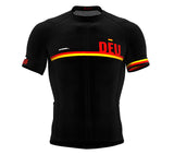 Germany Black CODE Short Sleeve Cycling PRO Jersey for Men and WomenGermany Black CODE Short Sleeve Cycling PRO Jersey for Men and Women