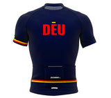 Germany Blue CODE Short Sleeve Cycling PRO Jersey for Men and Women
