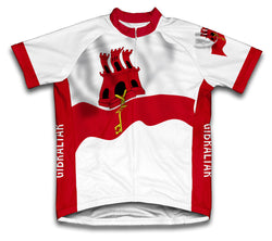 Gibraltar Flag Cycling Jersey for Men and Women