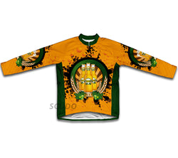 Golden Charm Winter Thermal Cycling Jersey