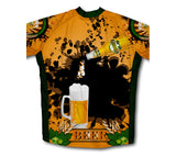 Golden Charm Short Sleeve Cycling Jersey for Men and Women