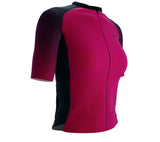 Scudopro Pro-Elite Short Sleeve Cycling Pro Fit Jersey Gradient Intense Grape for Women