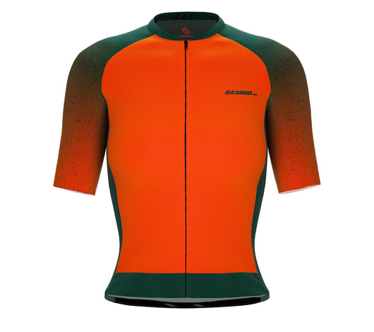 Scudopro Pro-Elite Short Sleeve Cycling Pro Fit Jersey Gradient Intense Orange for Women