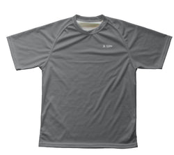 Gray  Technical T-Shirt for Men and Women