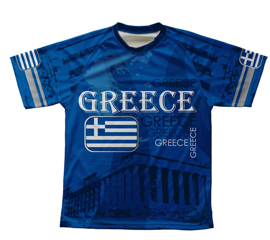 Greece Technical T-Shirt for Men and Women
