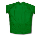 Keep Calm and Bike On Green Winter Thermal Cycling Jersey