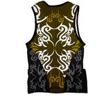 Green Black Tattoo Sheme Triathlon Top