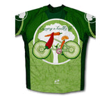 Green Diet Winter Thermal Cycling Jersey