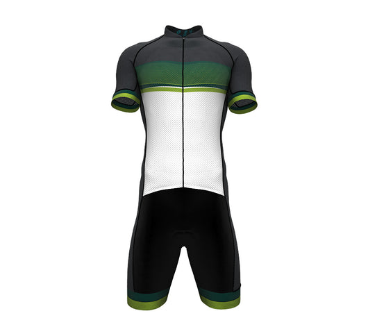 Green Forest Scudopro Cycling Speedsuit for ManGreen Forest Scudopro Cycling Speedsuit for Man