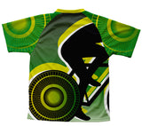 Green Lanter Biker Technical T-Shirt for Men and Women