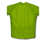Keep Calm and Cycle On Green Neon Winter Thermal Cycling Jersey