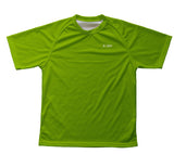 Green Neon Technical T-Shirt for Men and Women