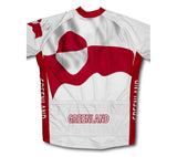 Greenland Flag Cycling Jersey for Men and Women