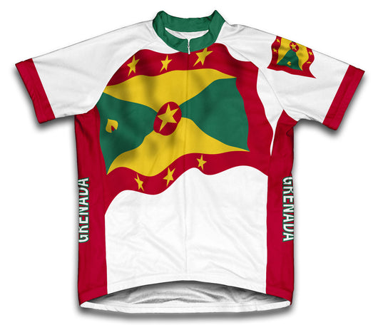 Grenada Flag Cycling Jersey for Men and Women