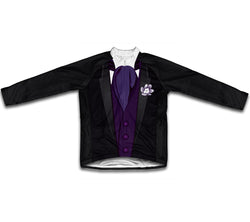 Groom Tuxedo Purple Winter Thermal Cycling Jersey