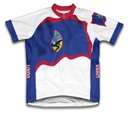 Guam Flag Cycling Jersey for Men and Women