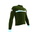 ScudoPro Pro Thermal Long Sleeve Cycling Jersey Country CODE Guatemala | Men and Women