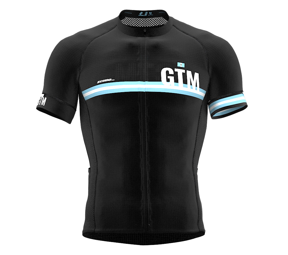 Guatemala Black CODE Short Sleeve Cycling PRO Jersey for Men and WomenGuatemala Black CODE Short Sleeve Cycling PRO Jersey for Men and Women