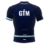 Guatemala Blue CODE Short Sleeve Cycling PRO Jersey for Men and Women