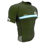 Guatemala Green CODE Short Sleeve Cycling PRO Jersey for Men and Women