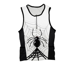 Half Night Spider Triathlon Top
