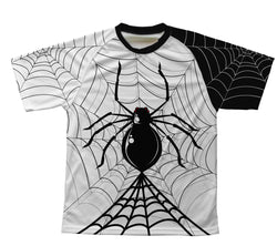 Half Night Spider Technical T-Shirt for Men and Women