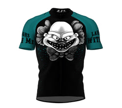 Happy Clown Cycling Jersey Short Sleeve for Men and Women