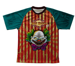 Happy Clown Ride Technical T-Shirt for Men and Women