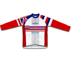 Hawaii Flag Winter Thermal Cycling Jersey
