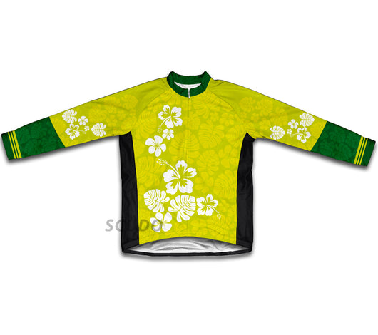 Hawaiian Greens Winter Thermal Cycling Jersey