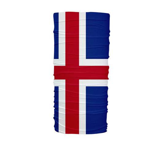 Iceland Flag Multifunctional UV Protection Headband