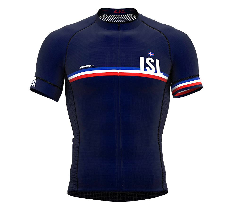 Iceland Blue CODE Short Sleeve Cycling PRO Jersey for Men and WomenIceland Blue CODE Short Sleeve Cycling PRO Jersey for Men and Women