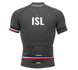 Iceland Gray CODE Short Sleeve Cycling PRO Jersey for Men and Women