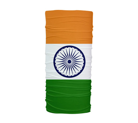 India Flag Multifunctional UV Protection Headband