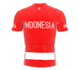 Indonesia  Full Zipper Bike Short Sleeve Cycling Jersey