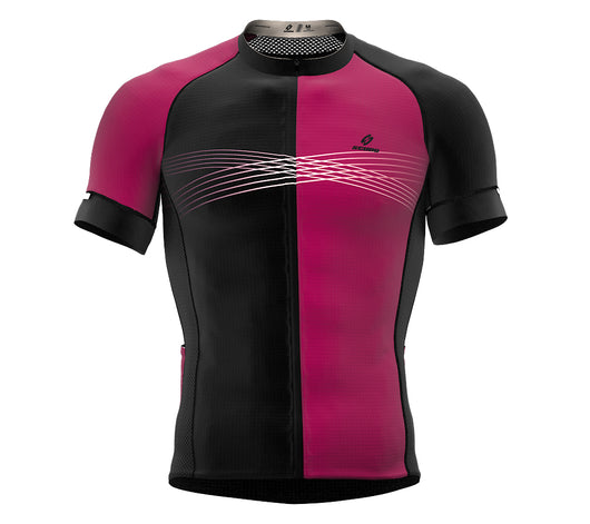 Inspired Black Short Sleeve Cycling PRO Jersey