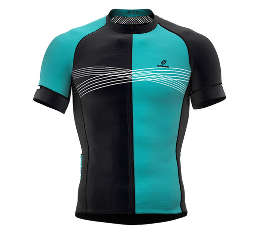 Inspired Blue Short Sleeve Cycling PRO Jersey