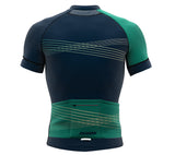 Inspired Green Short Sleeve Cycling PRO Jersey