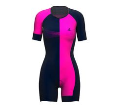 Inspired Pink Scudopro Cycling Skin Suit Short Sleeve for WomanInspired Pink Scudopro Cycling Skin Suit Short Sleeve for Woman